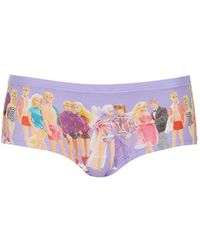 Topshop Low Rise Cheeky Briefs purple - Lyst