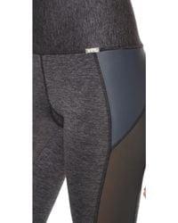 VPL - X Curvate Capri Leggings - Charcoal Marl - Lyst