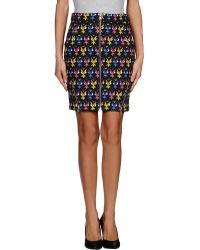Jeremy Scott Knee Length Skirt - Lyst