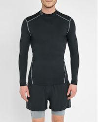 Under Armour | Black Coldgear Mock Compression Base Layer | Lyst