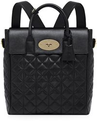 Mulberry Large Cara Delevingne Quilted Nappa Bag - Lyst