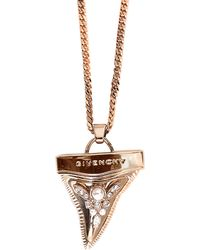 Givenchy - Shark Tooth Necklace With Pearls - Lyst