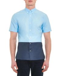 Burberry Brit - Madden Colour-block Shirt - Lyst