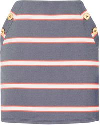 Oasis | A-line Button Skirt | Lyst