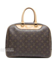 Louis Vuitton Preowned Monogram Canvas Deauville Beauty Boston Bag - Lyst