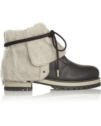 Jimmy Choo Dalton Faux Shearlinglined Leather Boots - Lyst