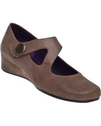 Vaneli For Jildor Matro Wedge Pump Taupe Lizard - Lyst
