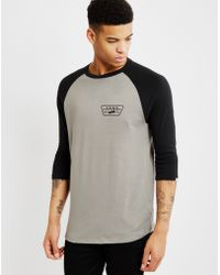Vans | Built Tough Raglan T-shirt Grey | Lyst