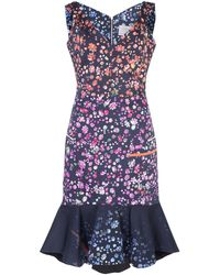 Preen Morgan Floral Dress - Lyst