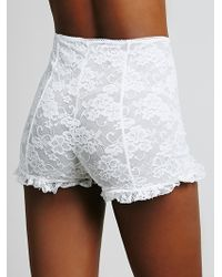 Intimately - Womens Scandoulous Lace Tap Short - Lyst