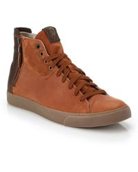 Diesel D-vellows Zippy High-top Sneakers - Lyst