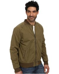 Lucky Brand Divisional Bomber Jacket - Lyst