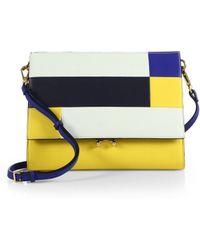Marni Colorblock Small Crossbody Bag - Lyst