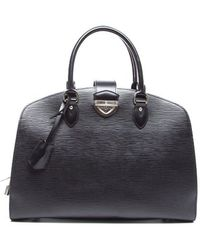 Louis Vuitton Preowned Black Epi Leather Pont Neuf Gm - Lyst