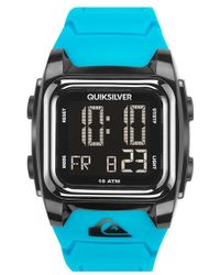 Quiksilver - 'the Grom' Silicone Strap Watch - Lyst