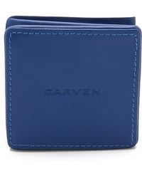 Carven - Leather Coin Pouch - Lyst
