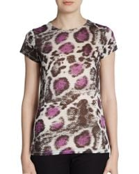 Stella McCartney Abstract Print Cotton Top - Lyst