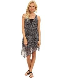 BCBGeneration Asymmetrical Hem Dress - Lyst