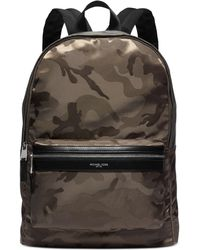 Michael Kors Kent Camo Backpack - Lyst