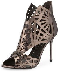 Dolce Vita Hadrian Laser-cut Leather Sandal - Lyst