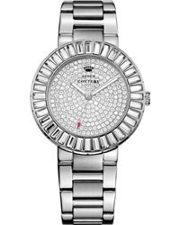 Juicy Couture Womens Grove Stainless Steel Bracelet Watch 38mm - Lyst