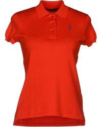 Ralph Lauren Red Sweater - Lyst