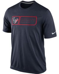 Nike Mens Houston Texans Legend Jock Tag Tshirt - Lyst