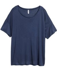 H&M Oversized Top - Lyst