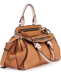 Chloé Fynn Small Double-handle Satchel Bag - Lyst