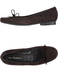 De Robert | Ballet Flats | Lyst