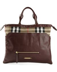 Burberry - The Big Crush Tote - Lyst