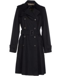 Aquascutum Full-Length Jacket black - Lyst