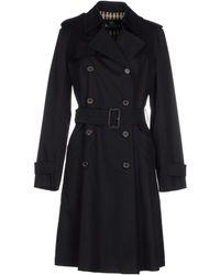 Aquascutum Full-Length Jacket black - Lyst