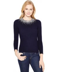 Kate Spade Madison Ave. Collection Bretta Sweater - Lyst