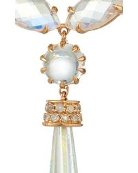 "Shawn Ames - One-Of-A-Kind ""Signature Sucre"" Rainbow Moonstone, Opals, And Diamond Earrings - Lyst"