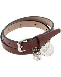 Alexander McQueen Skull Wrap Bracelet - Lyst