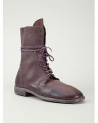 Guidi Lace Up Boots - Lyst