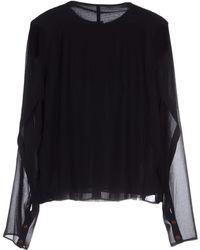 Henrik Vibskov Shirt black - Lyst