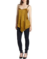 9 15 Leather-Strap Silk Camisole - Lyst