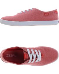 Wesc Low Tops  Trainers - Lyst