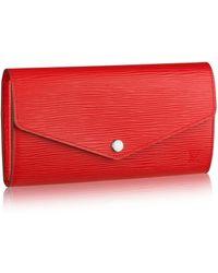 Louis Vuitton Sarah Wallet - Lyst