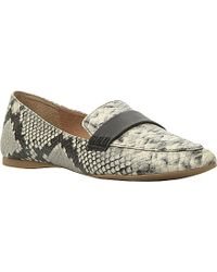 Steve Madden Erosion Reptile-Print Loafers - For Women - Lyst