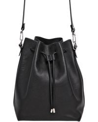 Proenza Schouler Large Brushed Leather Bucket Bag - Lyst