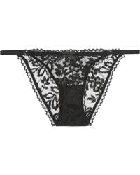Agent Provocateur Denver Lace Briefs - Lyst