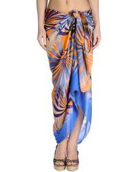 Christies Sarong orange - Lyst