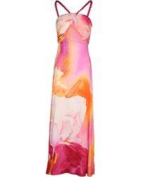Gattinoni Long Dress - Lyst