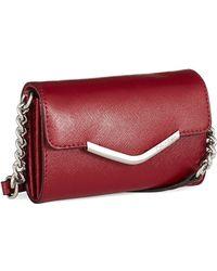 Calvin Klein Red Crossbody Bag - Lyst