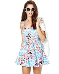 Nasty Gal Electric Maze Dress - Lyst