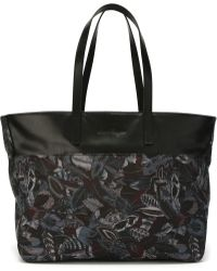 Ferragamo | Feather Print Tote | Lyst