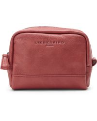 Liebeskind - Red Ava Leather Pouch - Lyst